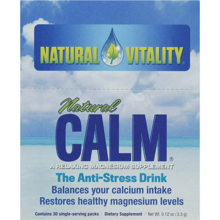Natural Vitality Natural Calm  Original Flavor  30 Ct