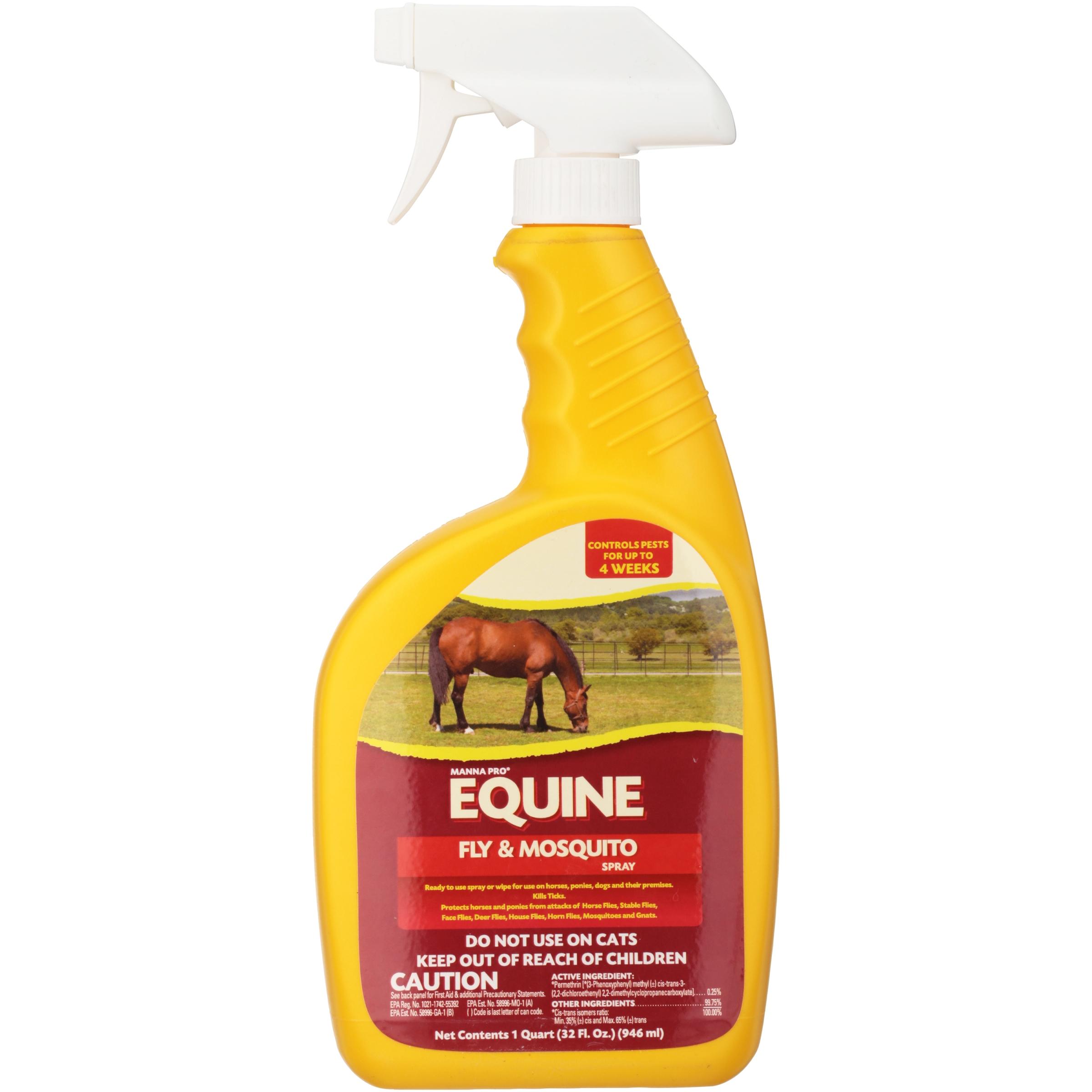 Manna Pro® Equine Fly & Mosquito Spray 32 fl oz Spray Bottle