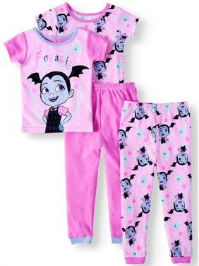 159150654f Toddler Girls Pajama Sets - Walmart.com