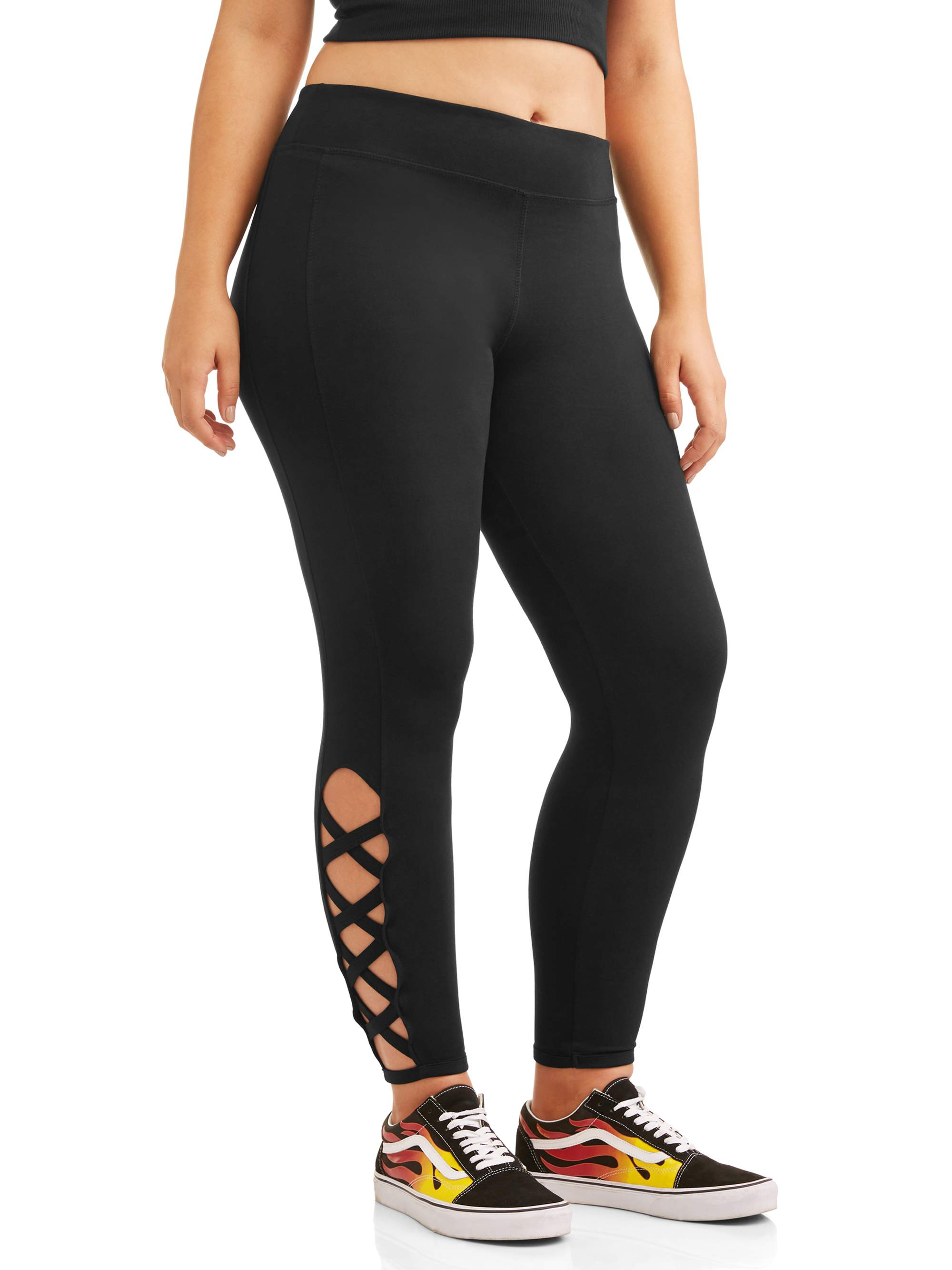 Women's Plus Cut Out Leggings