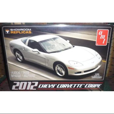 AMT756 2012 Corvette Coupe Showroom Replica 1/25 Scale - 1973 Corvette Coupe