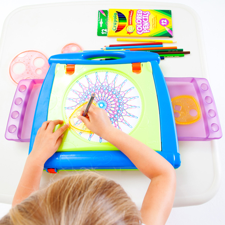 Crayola 4 in 1 Spiral Art Studio