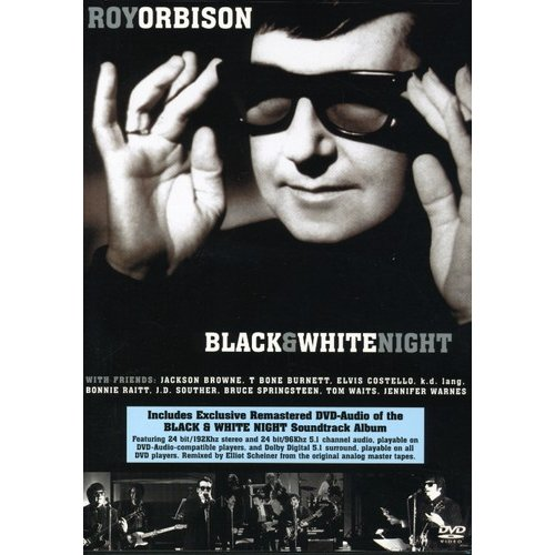 roy orbison - black ; white night (dvd ; dvd audio)