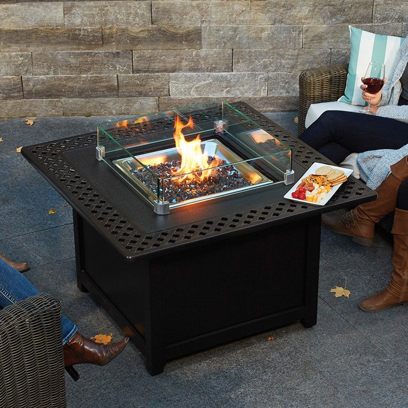 Napoleon Kensington Square Patioflame Gas Fire Pit Table