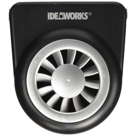 ideaworks solar auto fan vent. Black Bedroom Furniture Sets. Home Design Ideas