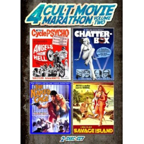 4 Cult Movie Marathon, Vol. 2 - Savage Island / The Naked Cage / Chatterbox / Angels From Hell