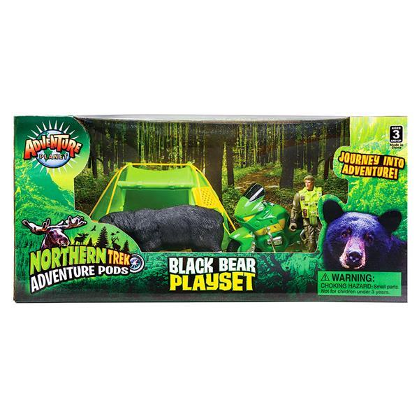 BLACK BEAR ADVENTURE POD, Case of 6