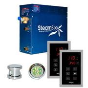 SteamSpa RYT750 Royal 7.5 Kw Quickstart Acu-Steam Bath Generator Package