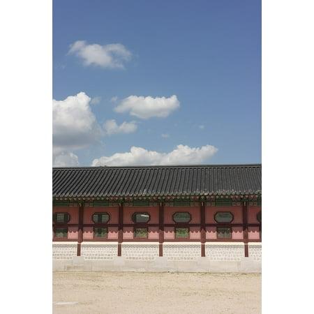 Laminated Poster Gyeongbok Palace Sky Republic Of Korea Poster Print 24 X 36