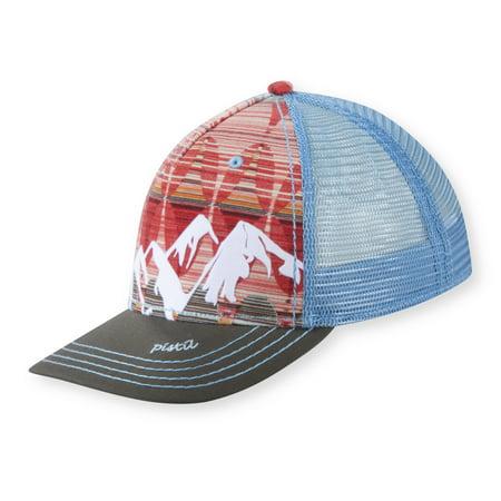 Pistil Lic Prod Mckinley Women's Trucker Hat Hibiscus - Womens Trucker Hat
