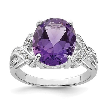 bd39d7d8e Ice Carats Designer Jewelry Gift USA - 925 Sterling Silver Purple ...