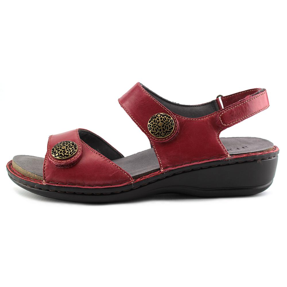 Aravon Candace   2E Open-Toe Leather   Slingback Sandal b68263