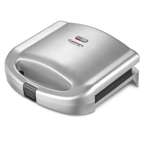 Cuisinart WM-SW2NFR Dual-Sandwich Nonstick Electric Grill (Refurbished)
