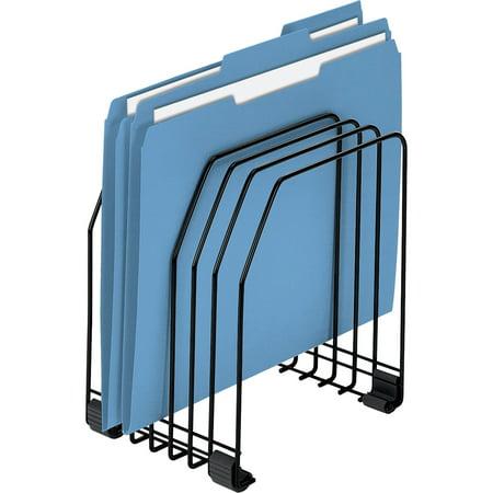 Fellowes Wire File Organizer, 7 Comp, Steel, 7 3/8 x 5 7/8 x 8 1/4, (Wide Desktop Organizer Letter)