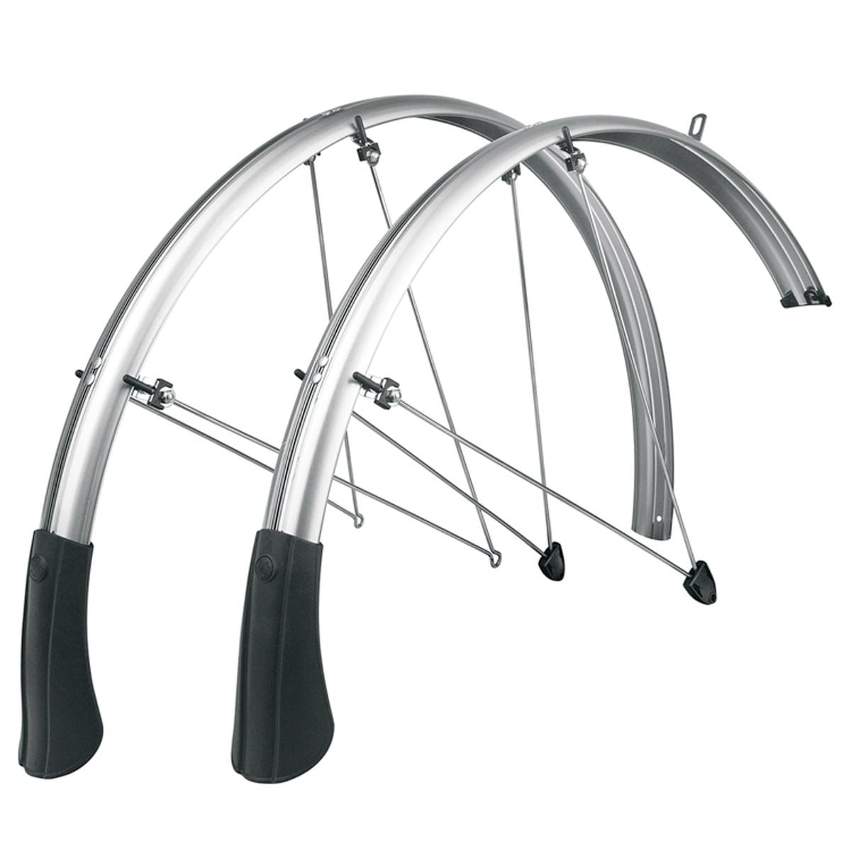 SKS P65 Chromoplastic Longboard Bicycle Fenders - Pair - 26 x 2.1-2.35
