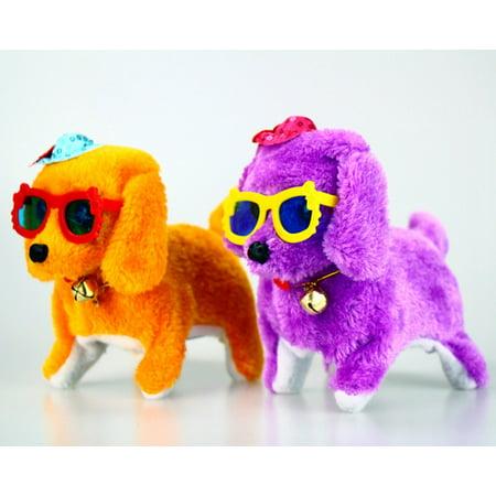 Dzt1968music Light Cute Robotic Electronic Walking Pet Dog Puppy Kids Toy