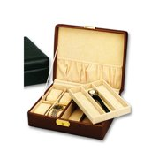 Budd Leather Men's Leather Goods Watch Box