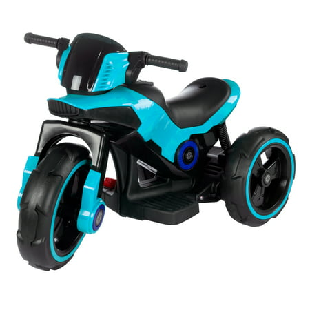 Ride-On Toy Trike Motorcycle –Battery Operated Electric Tricycle for Toddlers with Built-in Sound, Lights and MP3 Input by Lil' Rider (Motorcycle Rides 2008)