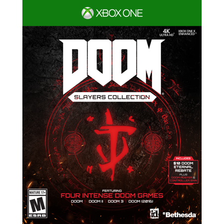 DOOM Slayers Club Collection, Bethesda, Xbox One, 093155175181