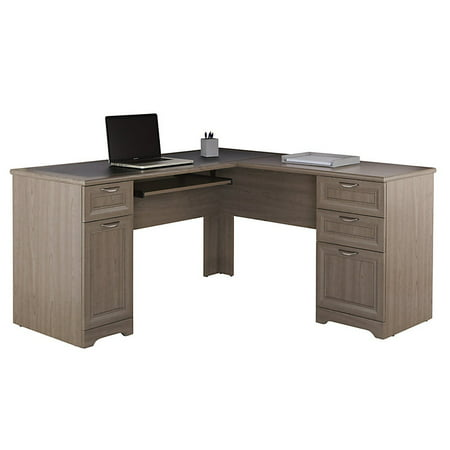 Realspace Magellan Collection L-Shaped Desk, Gray (Realspace Magellan Performance Collection L Desk Espresso)