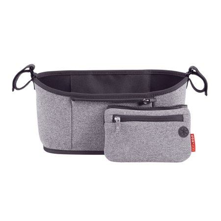 Skip Hop Grab & Go Stroller Organizer, Heather Grey