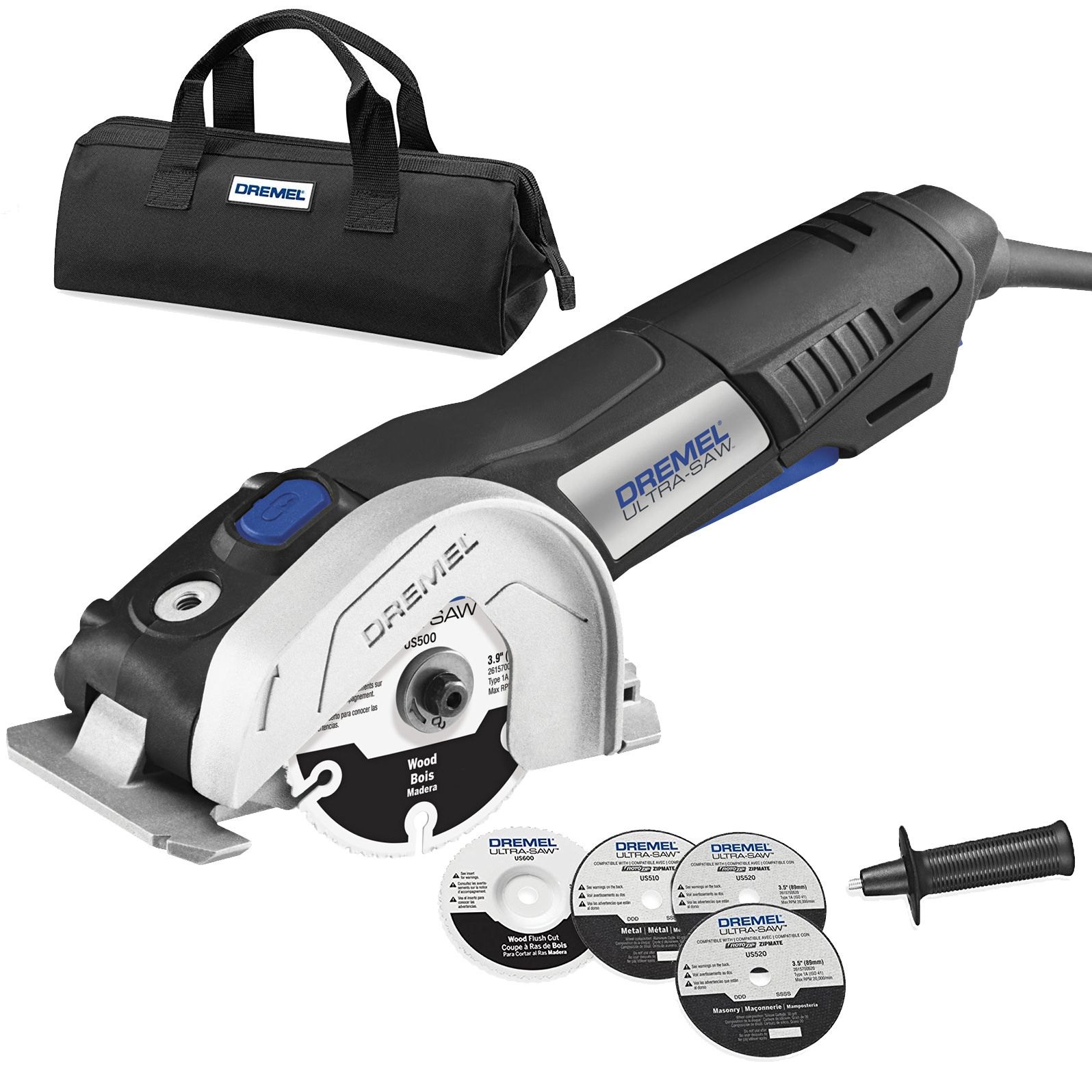 Dremel Us40-Dr 7.5 Amp Motor 4-Inch Ultra-Saw Tool Kit Reconditioned Mfr. Refurbished