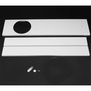 2 pcs Portable Air Conditioner Spare Parts Window Slide Kit 67.5~128cm Maximum adjustable length