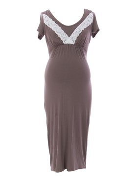 4af3eb0e3d1fd3 Product Image 9FASHION Maternity Women s Nelly Nursing Gown