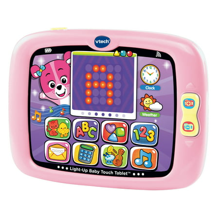 VTech Light-Up Baby Touch Tablet - Pink](Toddler Toy)