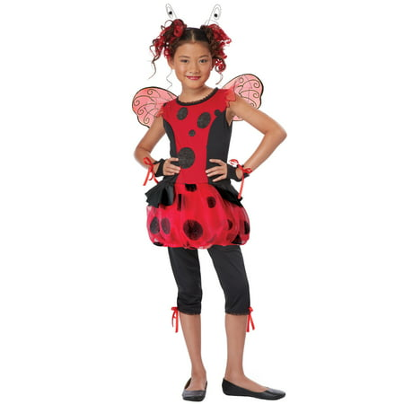 Cute As a Bug Child Costume](Kids Lady Bug Costume)