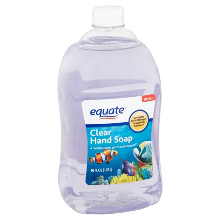Equate Clear Liquid Hand Soap Refill 56 Oz Best Hand