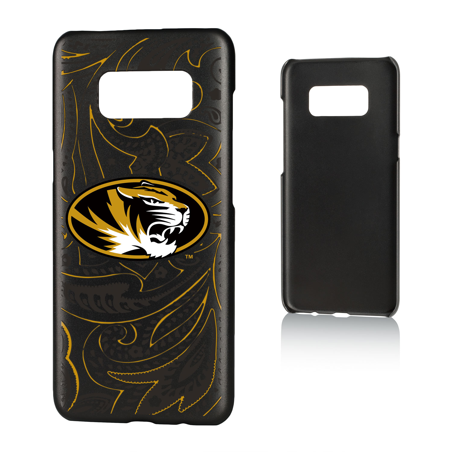 MU Missouri Mizzou Paisley Slim Case for Galaxy S8