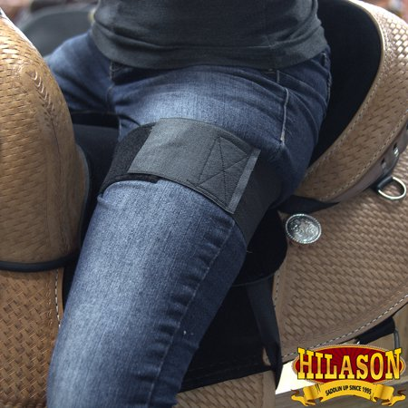 Hilason Anti Slip Grip Horse Saddle Seat Cover Barrel Trail Riding Black