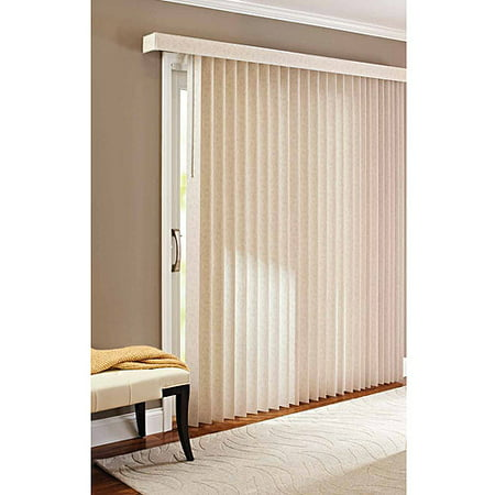 Better Homes & Gardens Vertical Textured S-Slat Privacy Blinds