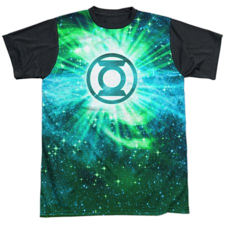 Justice League Power Swirl Mens Sublimation Shirt