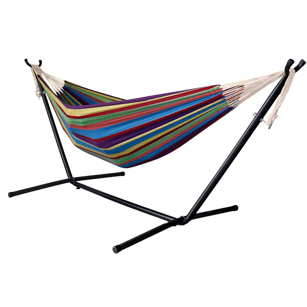 Details about  /Hammock Stand Weather with Carrying Case 450LBS Capacity Resistant Metal Frame