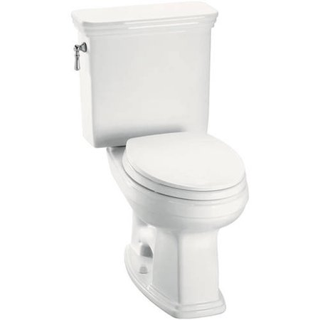 Toto Eco Promenade 1.28 GPF Two Piece Elongated Toilet, Less Seat, Available in Various Colors