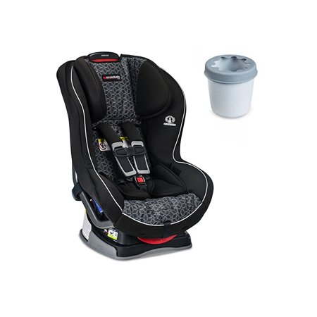 Britax Emblem Convertible Car Seat Fusion With Cup Holder Bundle