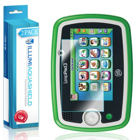 2x iLLumi AquaShield Clear Screen Protector Cover for LeapFrog LeapPad 3 (Leappad Screen Replacement)
