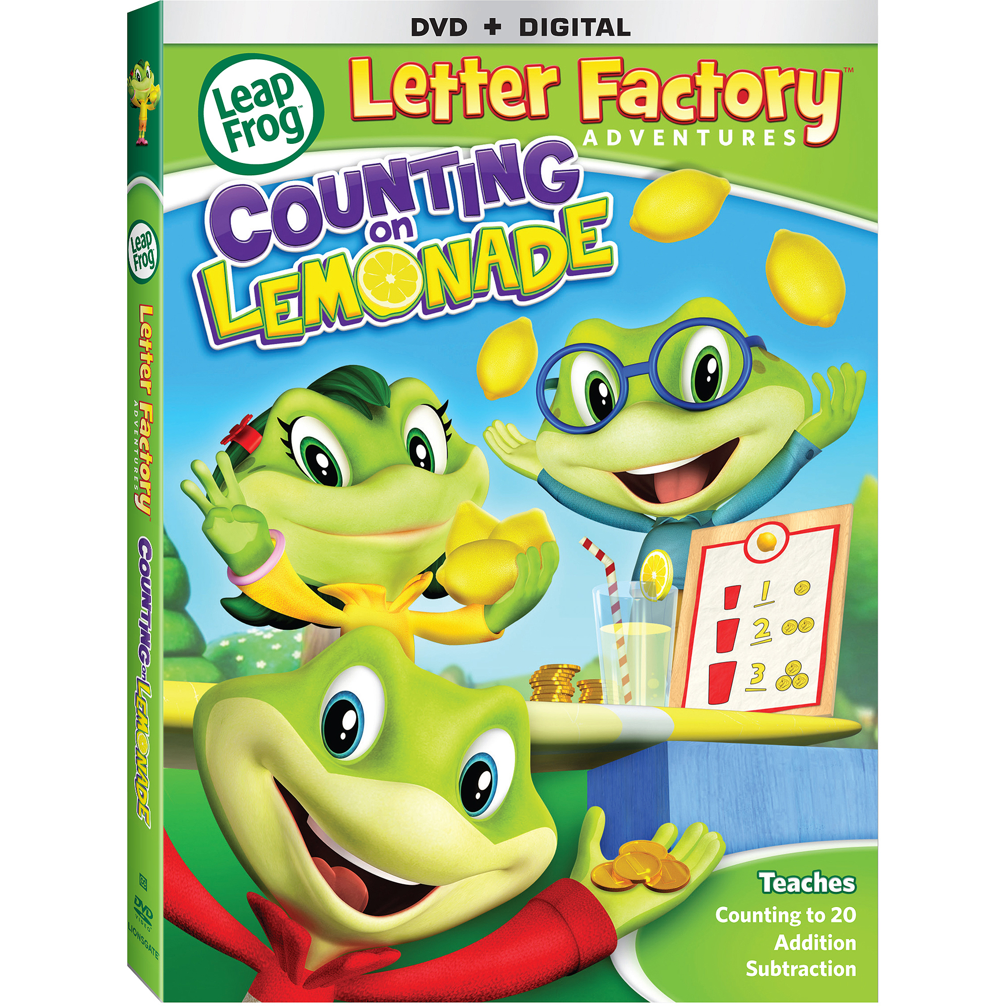 LeapFrog: Letter Factory Adventures - Counting On Lemonade (DVD + Digital Copy) (With INSTAWATCH) (Widescreen)