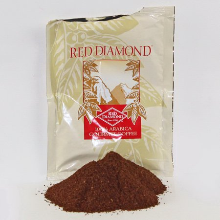 Red Diamond 108080 Coffee 100% Arabica 1-15 Pound