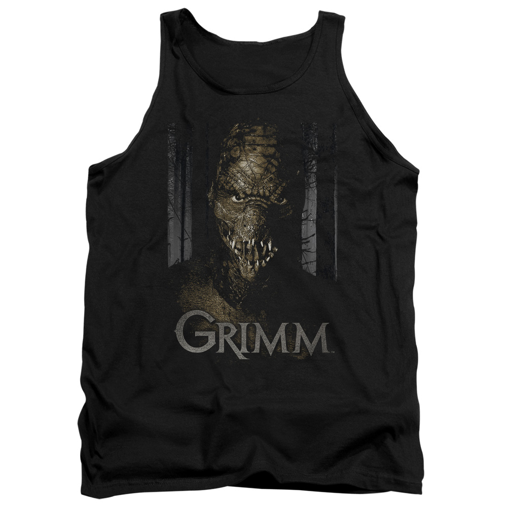 Grimm Police Drama Supernatural Series Chompers Adult Tank Top Shirt