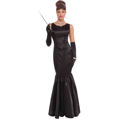 Breakfast at Tiffany's Audrey Hepburn Vintage Hollywood Black Dress - Breakfast At Tiffany's Costume