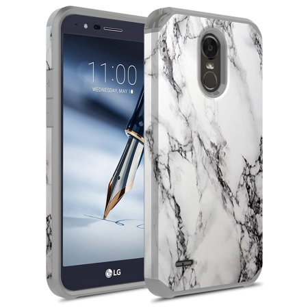 new products 5be5d 5f720 LG Stylo 3 Case, LG Stylo 3 Plus, KAESAR Hybrid Dual Layer Shockproof Hard  Cover Graphic Fashion Cute Colorful Silicone Skin Case for LG Stylo 3 / LG  ...
