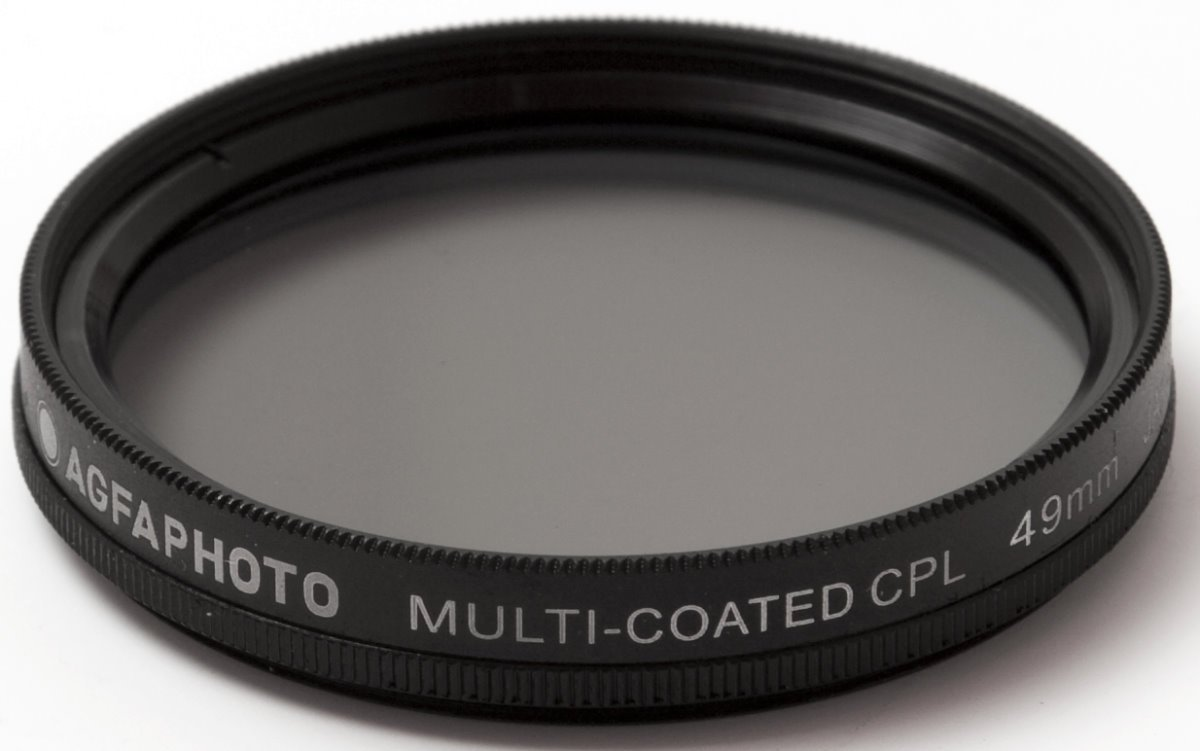 AGFA Digital Multi-Coated Circular Polarizing (CPL) Filter 49mm APCPF49 by Agfa