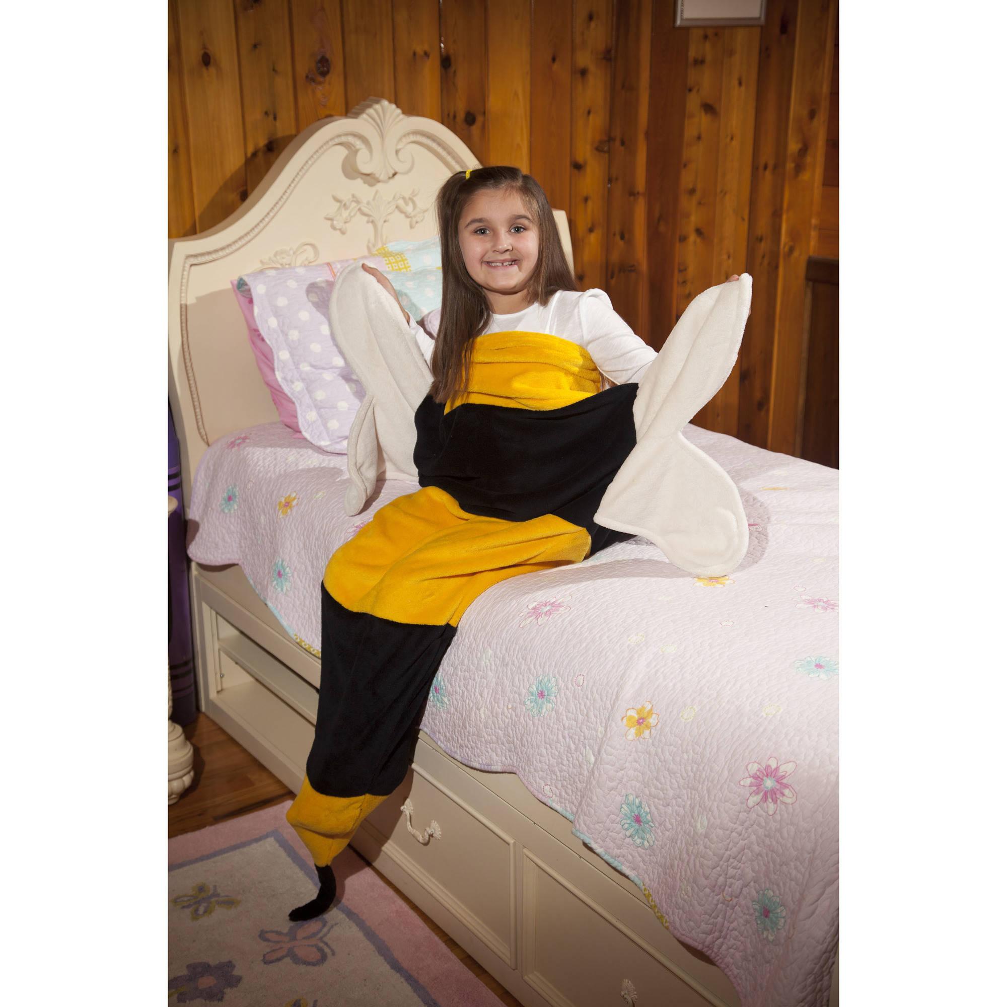 Bumble Bee Fleece Throw