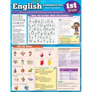 BarCharts 9781423221814 English Common Core 1St Grade Quickstudy Easel