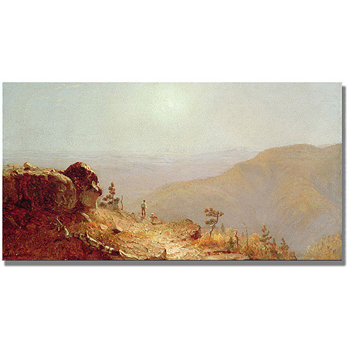 "Trademark Fine Art ""South Mountains, Catskills"" Canvas Art by Sanford Gifford"