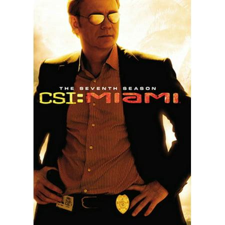 CSI: Miami - The Seventh Season (DVD)