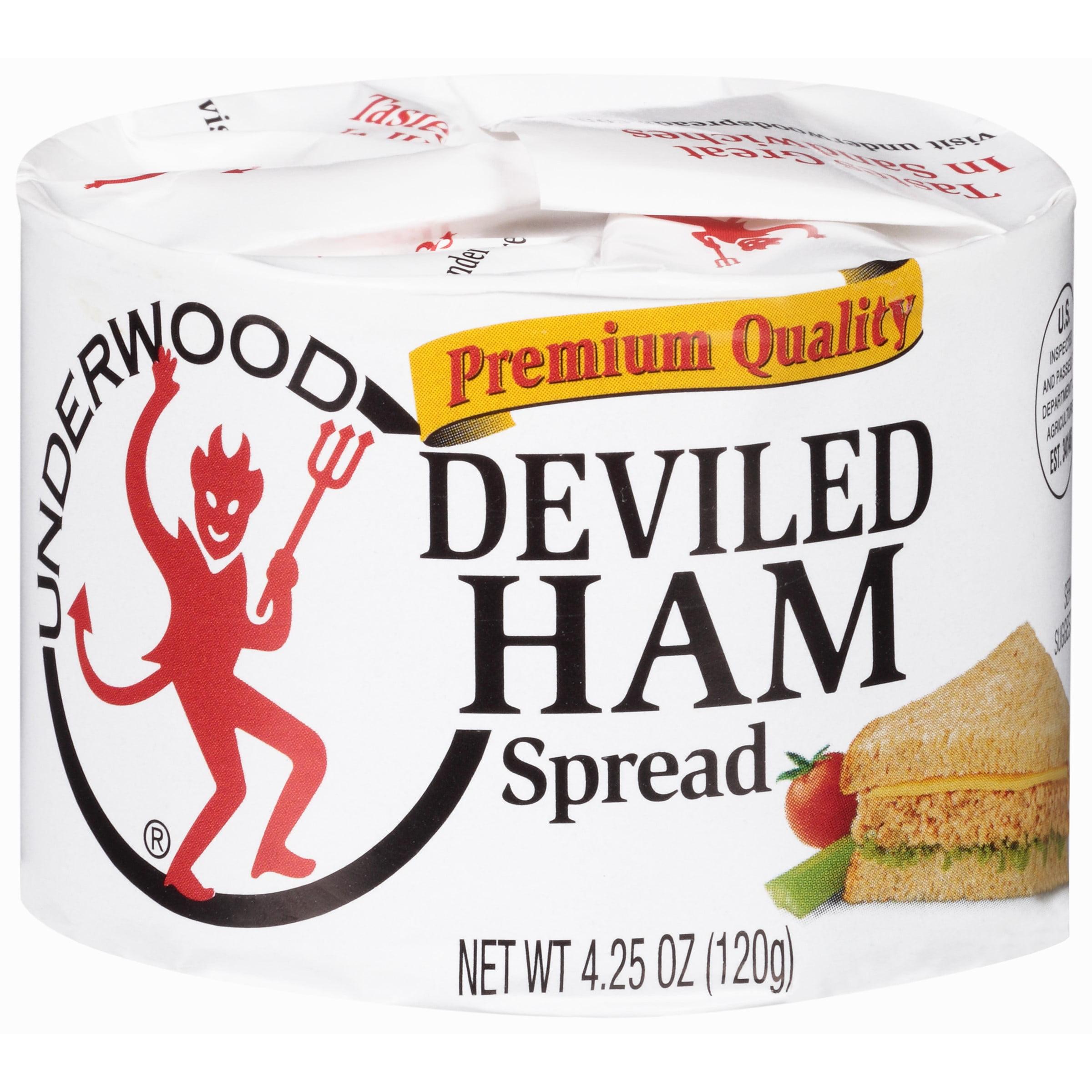 Underwood Premium Quality Deviled Ham Spread, 4.25 OZ